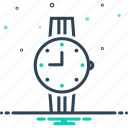 clock, time, watches, wrist, wrist watches icon