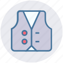 clothes, fashion, fisherman, jacket, leisure, suit icon