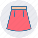 clothes, female, lady, lady dress, skirt, woman icon