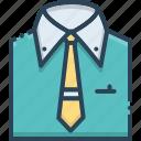 fashion, garment, menswear, shirt icon
