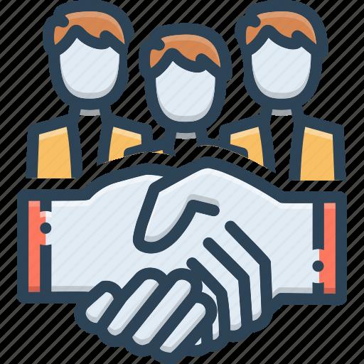 Collaboration, hands, handshake, partnership, shaking ...