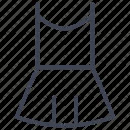 clothes, clothing, dress, fashion, straps, women icon
