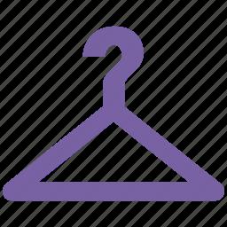 bathroom, dry, fabric, hanger, household, housekeeping, hygiene, wardrobe icon