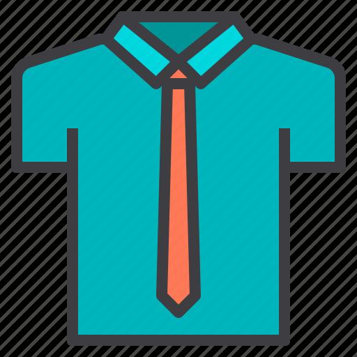 clean, clothes, fashion, garment, shirt, uniform icon