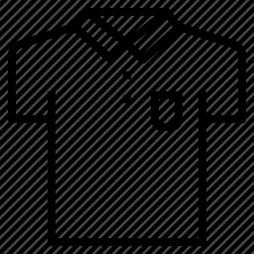 clean, clothes, fashion, garment, polo, shirt icon