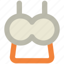 bra, brasserie, garments, underclothes, undergarments icon