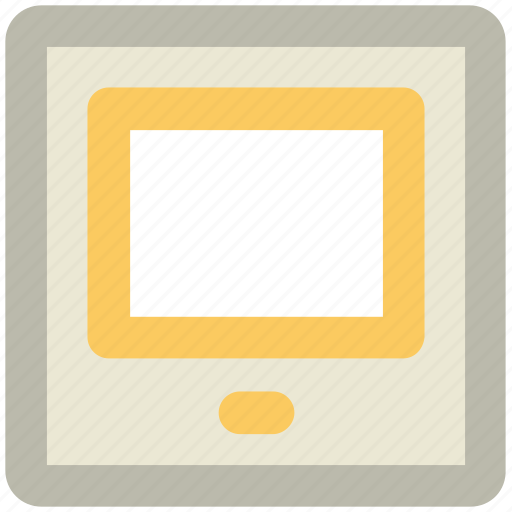 computer tablet, ipad, mobile phone, smartphone, tablet icon