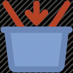 basket, hamper, online shopping, shopping, shopping basket icon