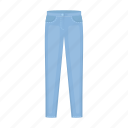 clothes, clothing, fashion, jeans, man, style, trousers icon