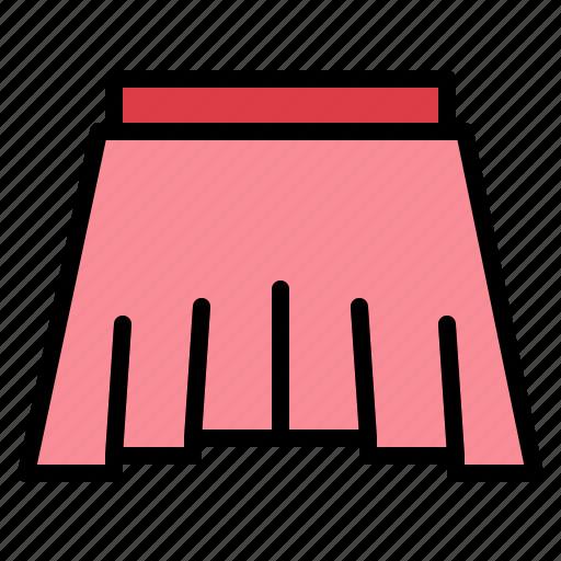 Clothing, fashion, femenine, skirts icon - Download on Iconfinder