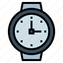 clocks, date, timer, watch, wristwatch icon
