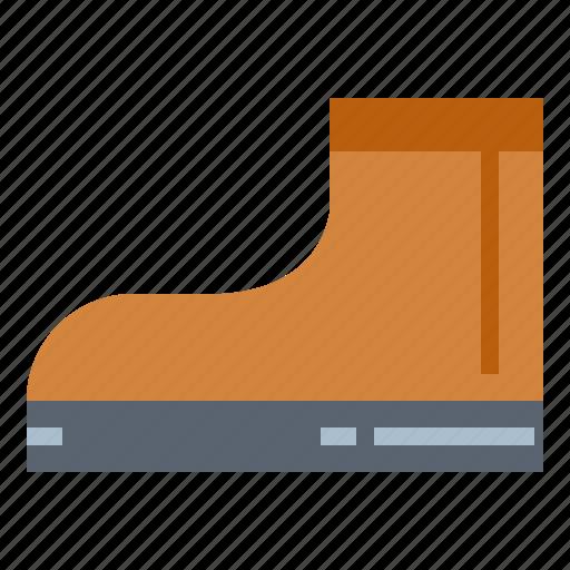 boots, fashion, footwear, shoe icon