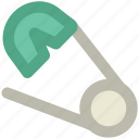 coucou, pin, pin variant, safety, safety pin icon