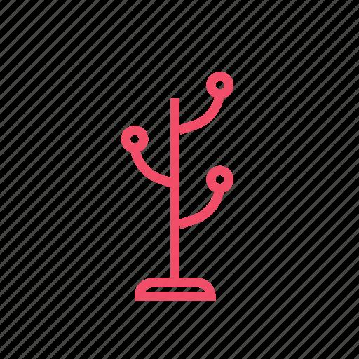 cloakroom, hanger, rack, wardrobe icon