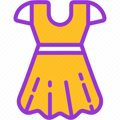 clothes, dress, lady, party, woman icon