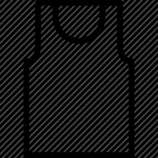 accessories, clothe, clothing, dress, vest icon