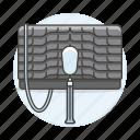 accessory, bags, black, clothes, designer, handbag, purse, scaled, small icon