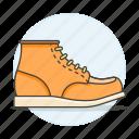 orange, shoes, footwear, clothes, boots, short, accessory