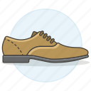 1, accessory, brown, clothes, footwear, leather, shoes, suede icon