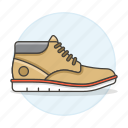 accessory, beige, brown, clothes, footwear, leather, light, shoes icon