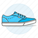 2, accessory, blue, clothes, footwear, light, shoes, sneakers icon