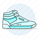sneakers, footwear, cyan, shoes, accessory, basketball, clothes