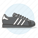 accessory, adidas, black, clothes, footwear, shoes, sneakers