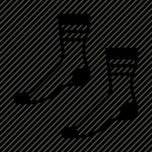 christmas, clothing, fashion, feet, sock, socks icon
