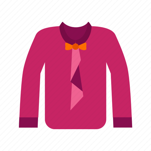 bow, fashion, male, shirt, suit, tie icon