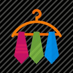 business, color, neck, necktie, shades, three, tie icon