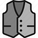 vest, male