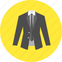business, businessman, fashion, jacket, male, suit, tie icon