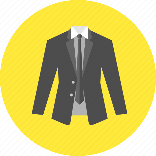 business, businessman, fashion, jacket, male, suit, tie icon