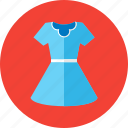 baby, clothes, dress, frock, gown, kid, women icon