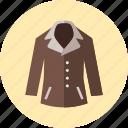 coat, over, clothes, jacket, women