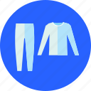 clothing, fashion, thermal, wear icon