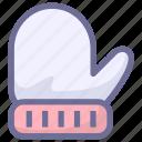 gloves, hand, winter icon
