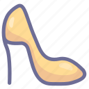 girl, high heel, shoe, walk icon