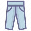 clothes, pants icon