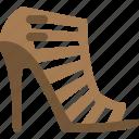gladiator, heels, high heels, sepatu bagus, women icon