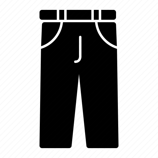 apparel, clothes, clothing, fashion, pants, trousers, wear icon