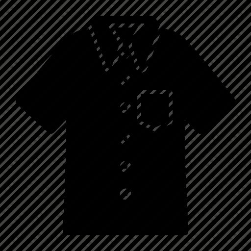 apparel, clothes, clothing, fashion, man, polo, shirt icon