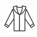 cloth, men, shirt icon