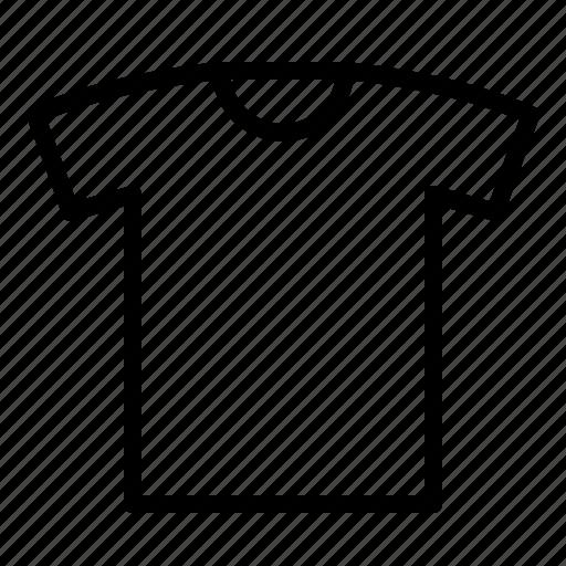 clothing, crew neck t-shirt, t-shirt icon