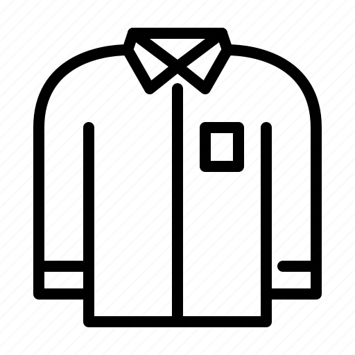 clothing, long sleeve, long sleeve shirt, shirt icon