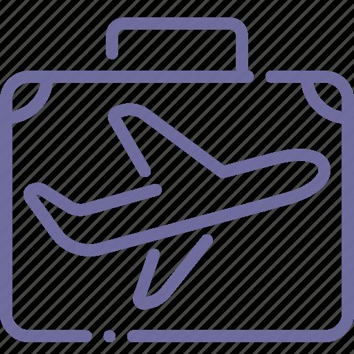 Flight, luggage, travel, trip icon - Download on Iconfinder