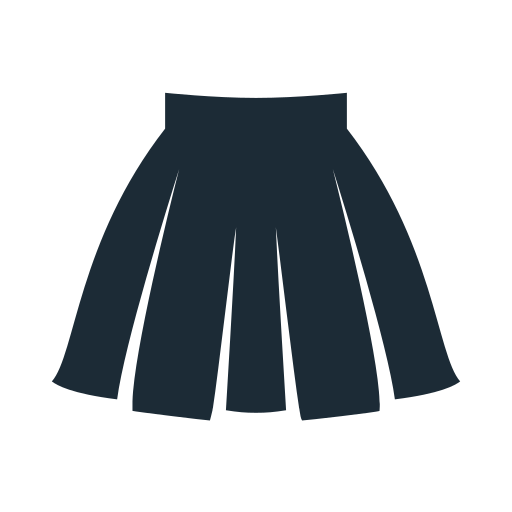 clothes, clothing, fabric, skirt icon