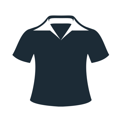 accesories, clothes, clothing, fabric, man, polo, t-shirt icon