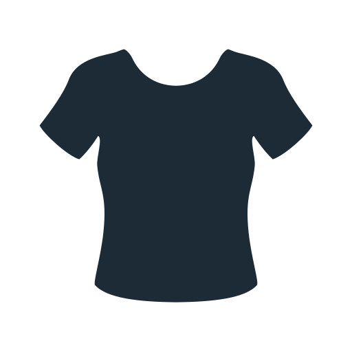 clothes, clothing, fabric, lady, t-shirt, woman icon