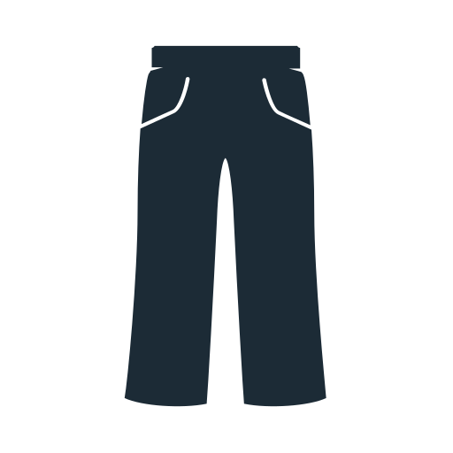 clothes, clothing, fabric, geans, man, pants, trousers icon